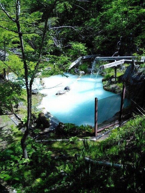 Konyoku-mixed bathing at Awa no Yu, Shirahone Onsen – #Awa #bathing #Konyokumixed #onsen #Shirahone #yu