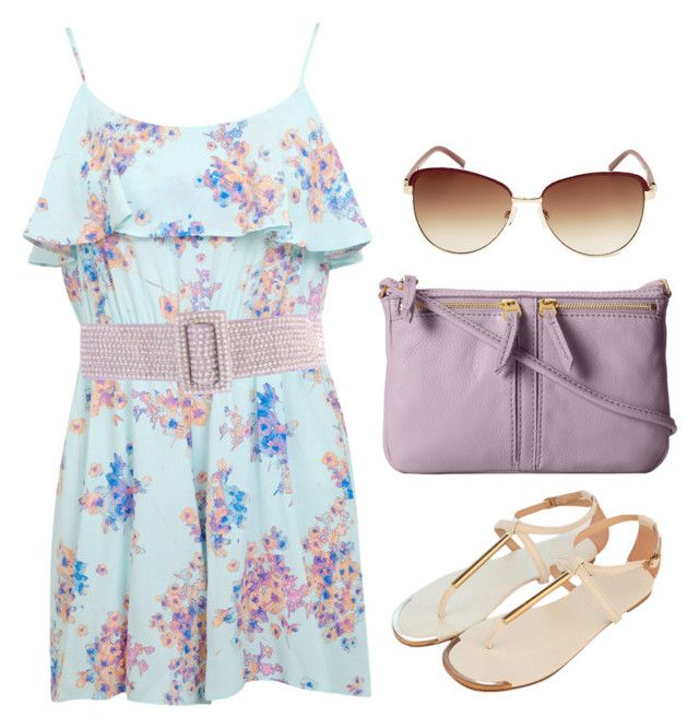 Alison Dilaurentis inspired barbecue outfit by liarsstyle on Polyvore featuring Miss Selfridge, FOSSIL, Steve Madden, Blumarine, Summer, Inspired, pll and barbecue