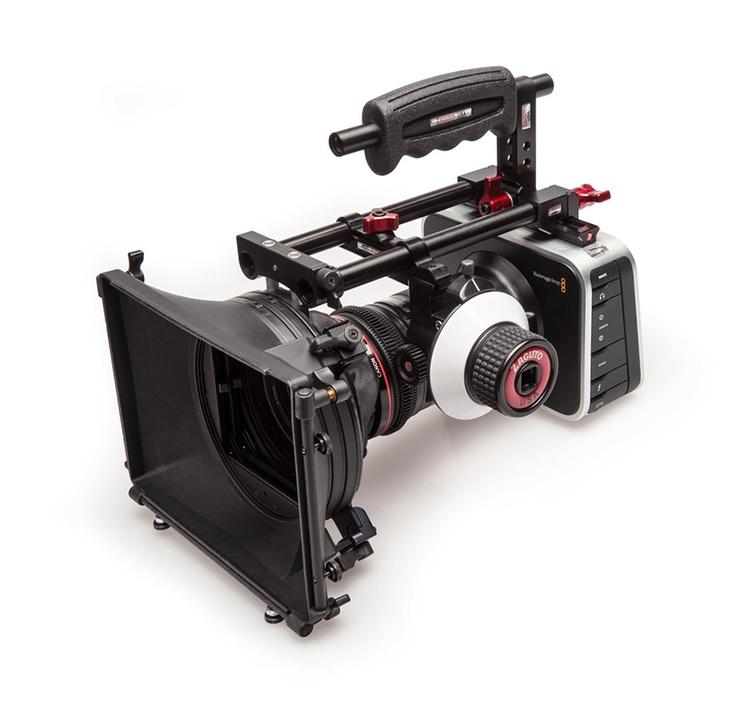 Zacuto Blackmagic Cinema Camera rig