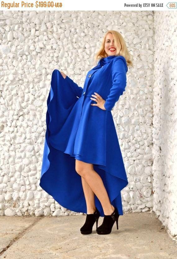 SALE Blue Cashmere Coat Blue Extravagant Coat Blue Winter https://www.etsy.com/listing/250251154/sale-blue-cashmere-coat-blue-extravagant?utm_campaign=crowdfire&utm_content=crowdfire&utm_medium=social&utm_source=pinterest
