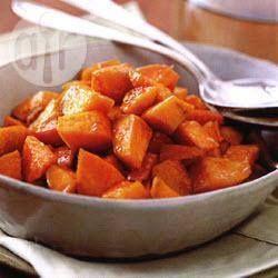 Patates douces au gingembre et au miel @ allrecipes.fr