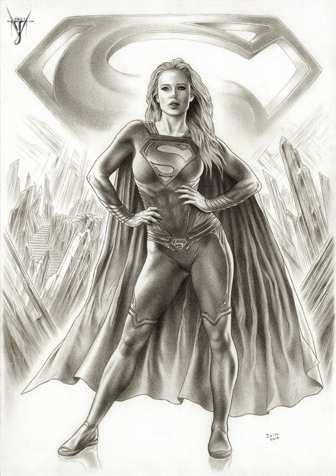 SUPERGIRL -Woman Of Steel por jairovalverde - Cómics | Dibujando.net
