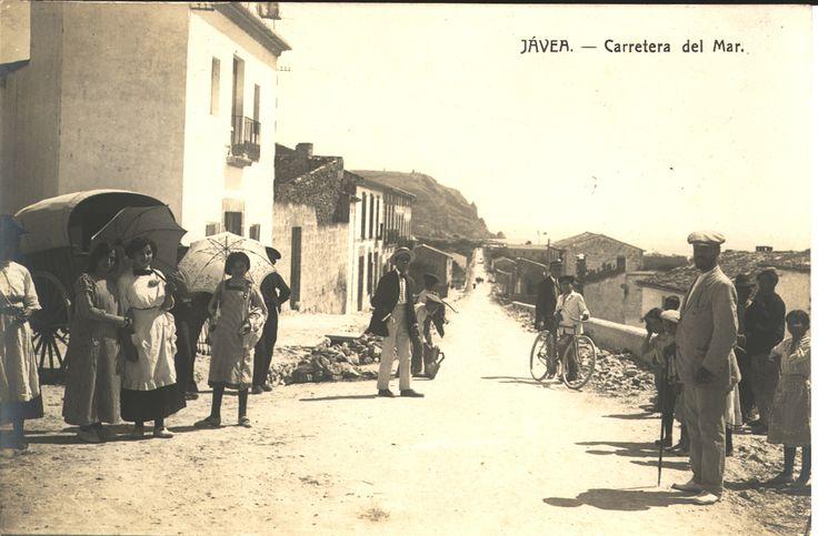Carretera del Mar : Jávea. (s.a.) - Anónimo