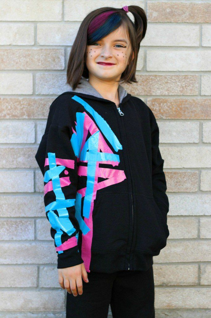 Such a great and simple costume! Wildstyle (WyldStyle) Lego Movie Costume