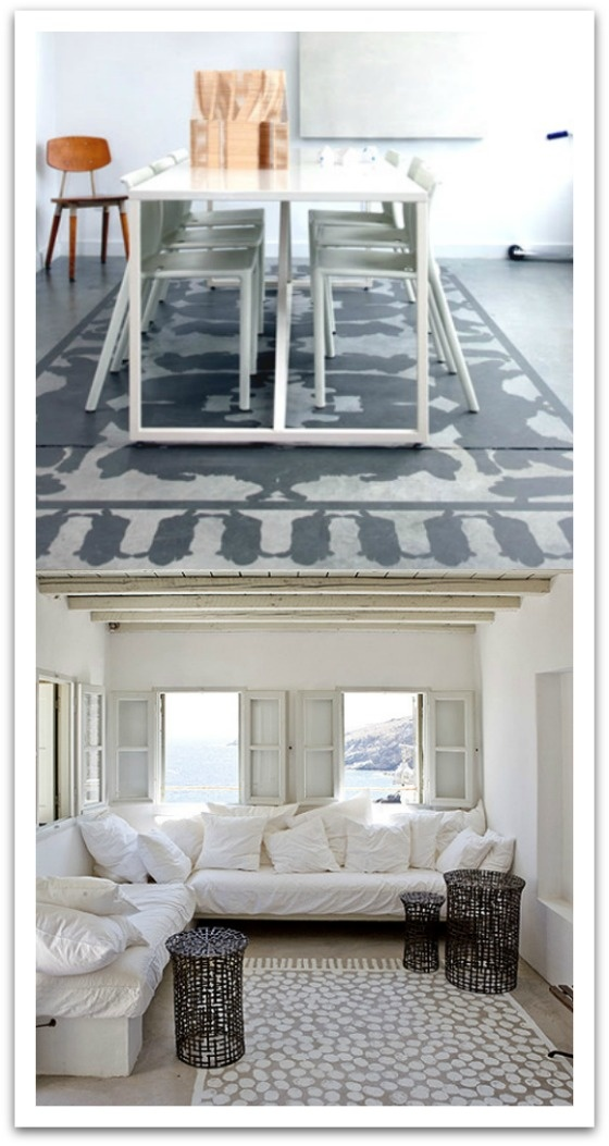 17 Best Images About Painted Floors On Pinterest