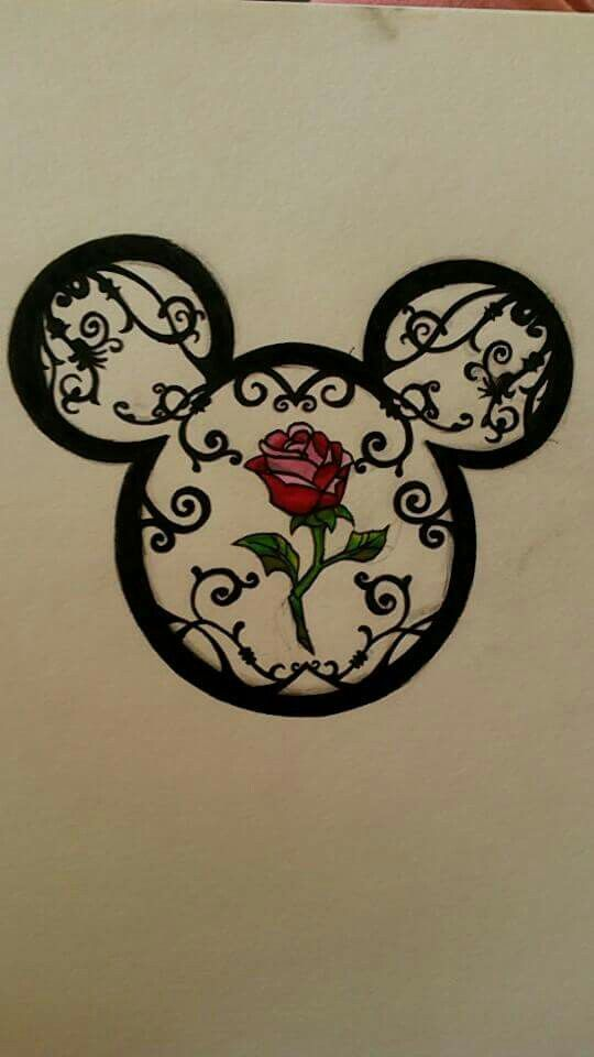 WOW!! My Grandma's real name is Minnie n this would b a great tattoo design for me to get cause she truly is the best Grandma in the world!                                                                                                                                                      More