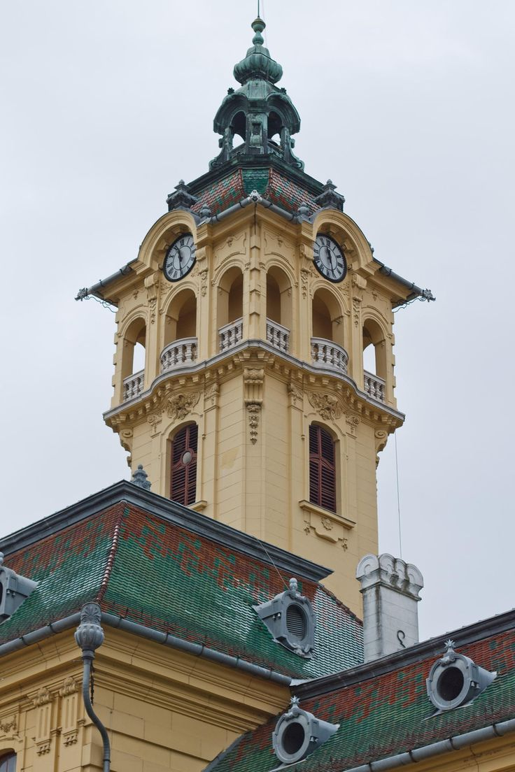 Szeged City Hall Tower by Szabó István on 500px