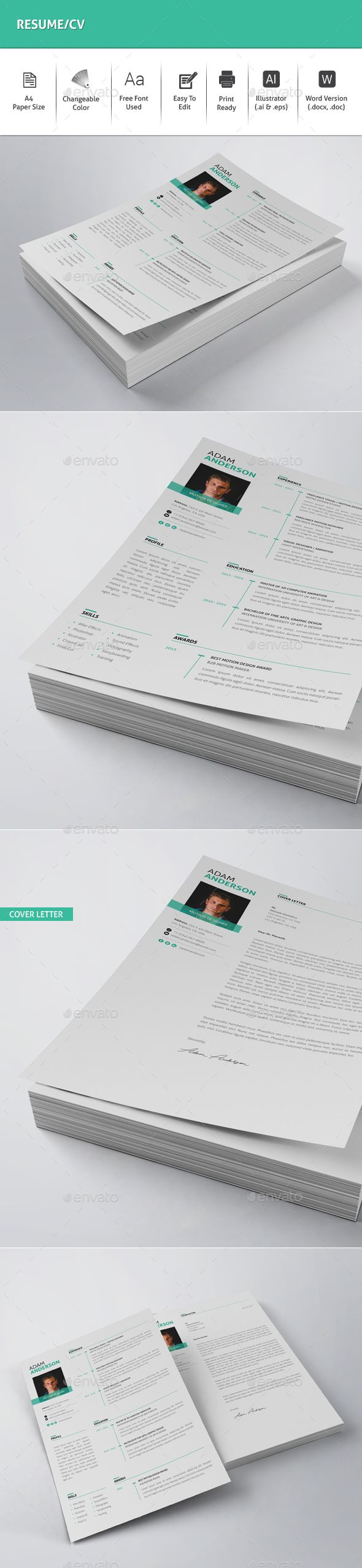 Microsoft Word Templates Cv%0A Resume CV