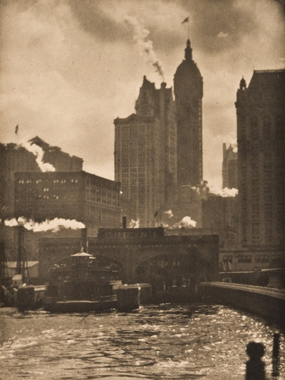 alfred stieglitz, the city of ambition, 1911.