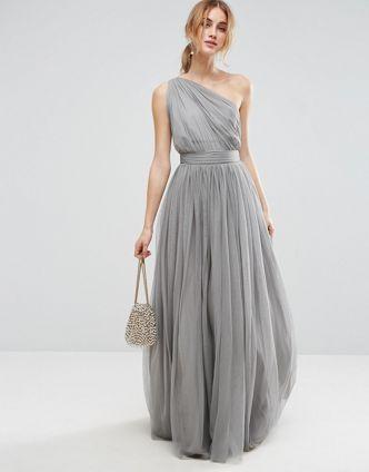 1000 id es sur le th me robes de mariage grises sur for Maxi robes florales pour les mariages