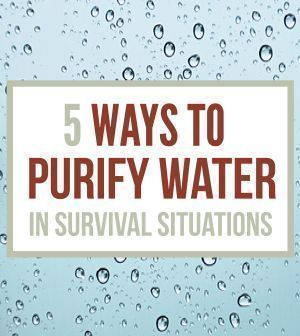 How To Purify Water - Survival Water Purification | Emergency Preparedness Tips & Tutorials On How To Make Your Own Clean Water By Survival Life http://survivallife.com/2014/02/28/how-to-purify-water-survival-water-purification/