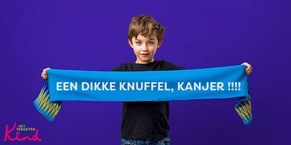 Donatie het vergeten kind. Met mijn spreuk.Page image