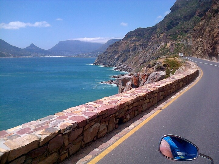 Boyes Drive between Betties Bay and Gordon's Bay - 50 minutes from Cape Town.