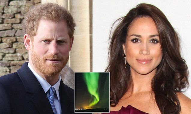 Prince Harry 'takes Meghan Markle to see the Northern Lights'