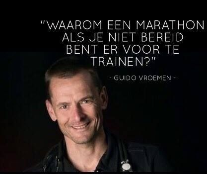 Guido Vroemen: 14 km is geen optimale voorbereiding