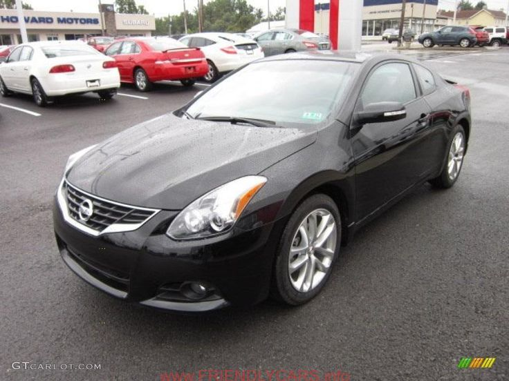 cool nissan altima coupe matte black car images hd Crimson