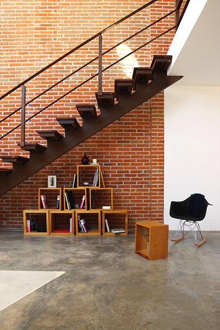 Loft Px | Dionne Arquitectos | #Architecture #Stairs #Interior #Design #Furniture