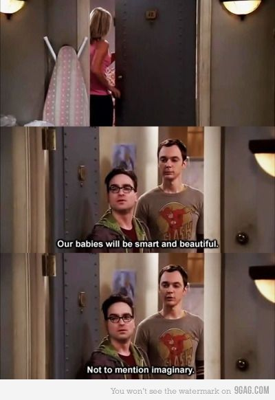 This is why I want Sheldon to be my best friend. <--- Yes I am not the only one who wants Sheldon as my best friend!
