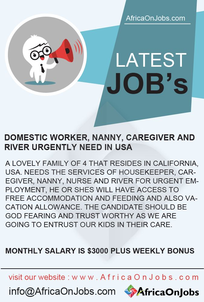 Nanny Jobs In Usa