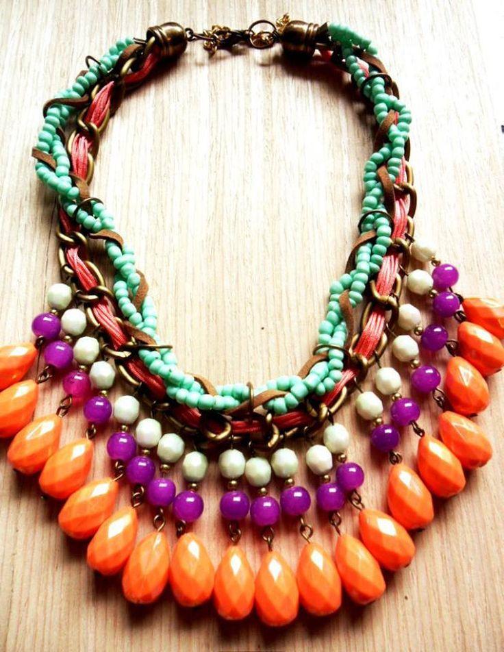 collar naranja_morado_azul