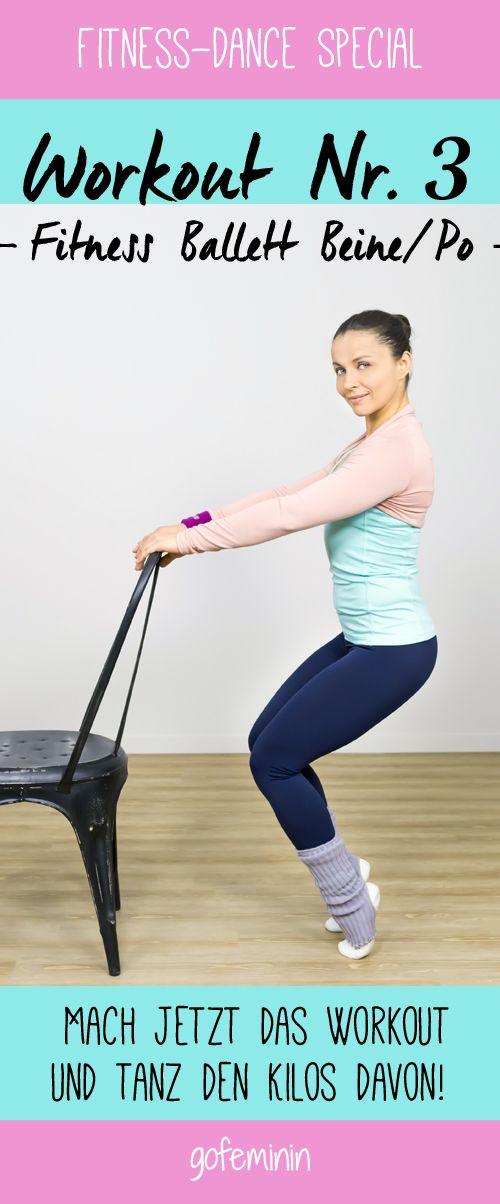 Workout Nr. 3: Das Fitness Ballett für Beine und Po