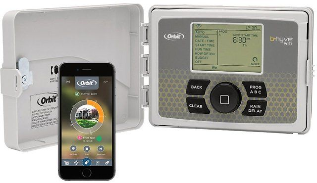 Orbit Wi-Fi Sprinkler Controller and Accessories | Gold Box Deal of the Day $51.99 (amazon.com)