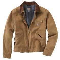 Carhartt Men's Detroit Blanket Lined Jacket