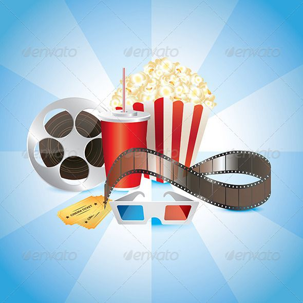 Cinematograph Objects and 3D glasses  #GraphicRiver         Cinematograph, film, popcorn, cola, and 3D glasses photo realistic vector  	 Zip file includes: - eps10, editable vector, RGB - jpg, 4000×4000 px, RGB - psd, RGB     Created: 28August13 GraphicsFilesIncluded: PhotoshopPSD #JPGImage #VectorEPS Layered: No MinimumAdobeCSVersion: CS Tags: 3d #3dglasses #art #background #camera #cinema #cinematograph #cinematography #clip-art #corn #design #entertainment #eps10 #fastmeal #film…