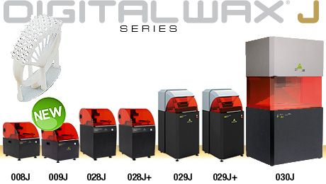 DWS SYSTEMS: DigitalWax Systems: machines' overview
