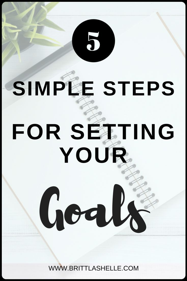 how to set realistic goals for yourself