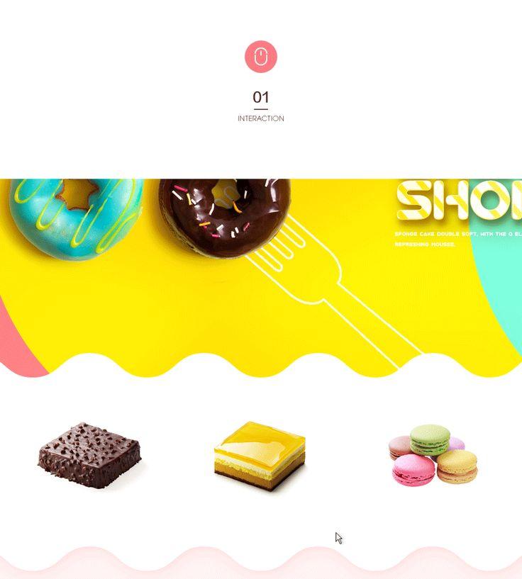 查看《甜品蛋糕网页设计》原图,原图尺寸:900x1000