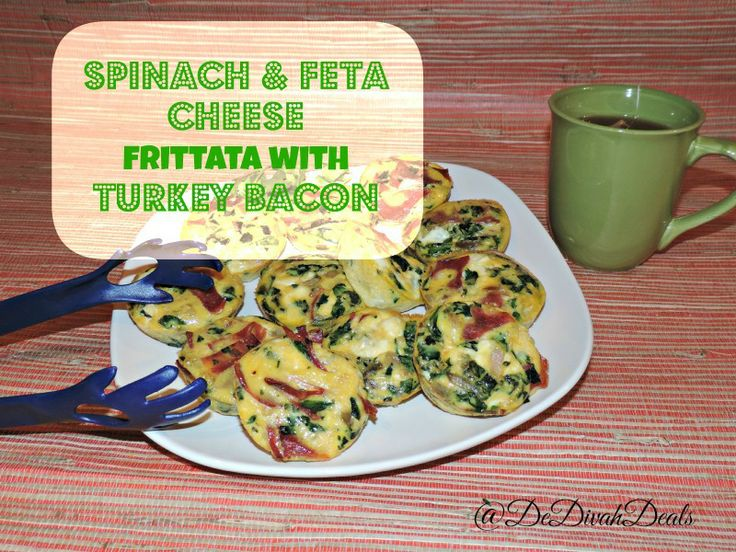 "added ""Spinach & Feta Cheese Frittatas 
