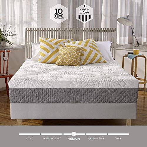 Amazing Offer On Sleep Innovations Shea 10 Inch Memory Foam Mattress Bed Box Made Usa 10 Year Warranty Full Size Online Looknewfashion In 2020 Box Bed Mattress Memory Foam Mattress