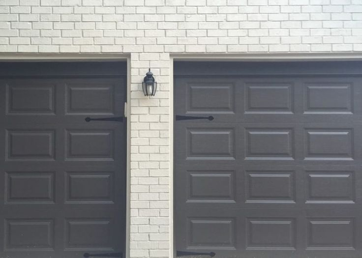 nice garage door painting tips good looking