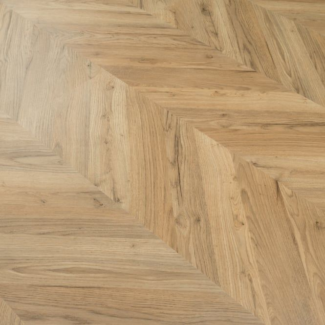 Signature 8mm Herringbone Laminate Flooring Natural Oak Natural Oak Flooring Types Of Wood Flooring Flooring