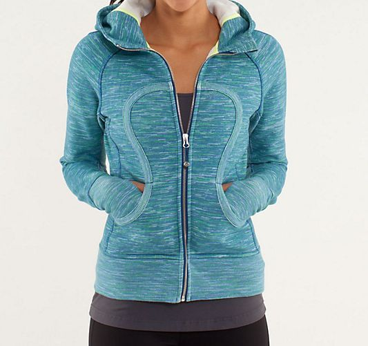 Have wanted one of these Lululemon hoodies for quite sometime.  They are so warm and cute for Iowa winters, but haven't taken the plunge!