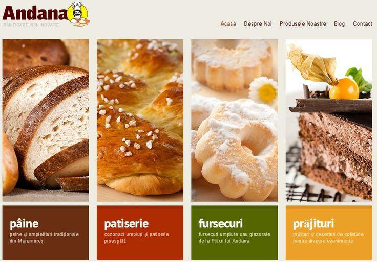 Ne pregatim sa lansam noul site Andana Pan Baia Mare - Brutarie prin traditie, panificatie prin inovatie