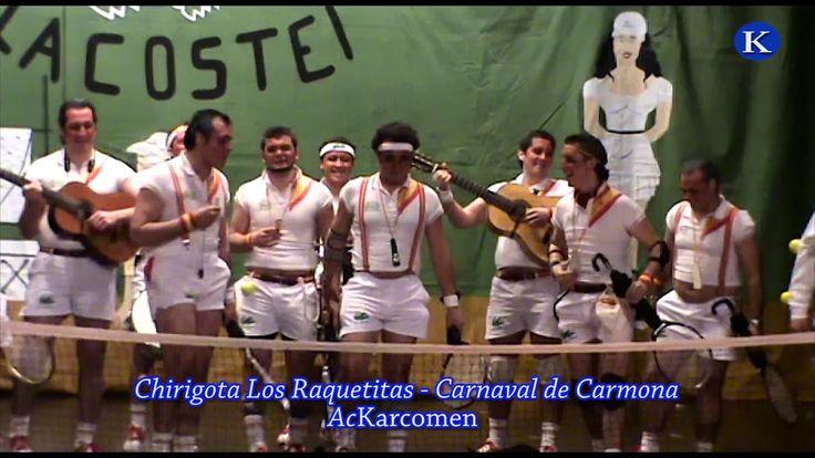 #carnaval #Chirigota Los raquetitas de Carmona 3º premio Final Carnaval de #Carmona 2010