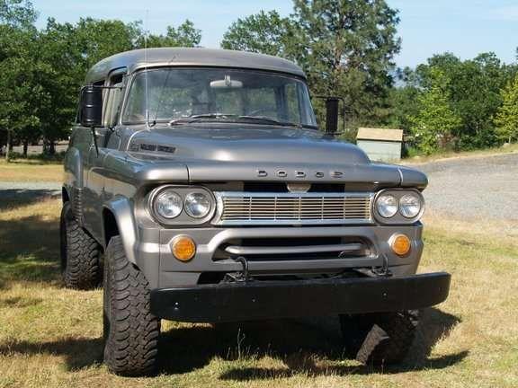 1963 Dodge Power Wagon W100 Town Wagon, 4X4 for sale in Medford, Oregon