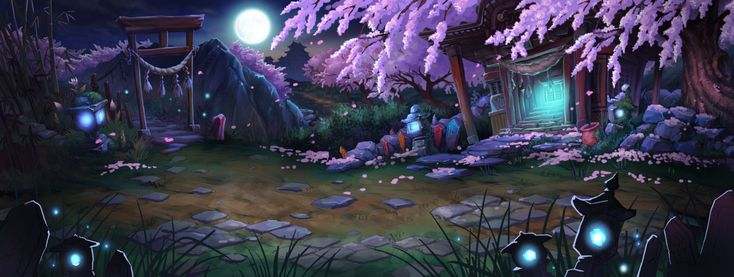 The island of the moon - Mobile Game Concept Art 1 by mio2014.deviantart.com on @DeviantArt