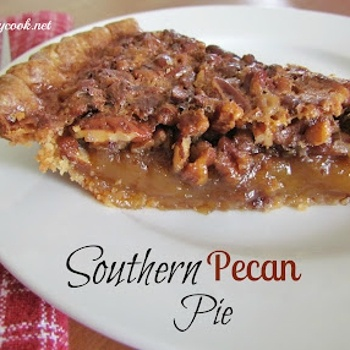 My Favorite Thanksgiving Recipes Southern Pecan Pie