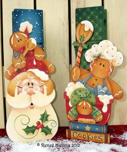 # 194 Tomillo de la Navidad Galletas (Paquete Patrón)