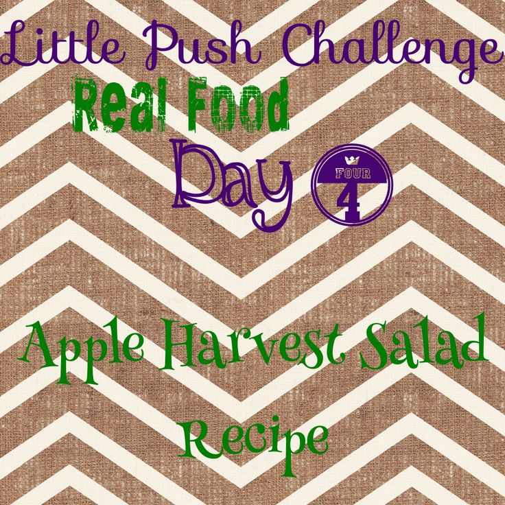 Little Push 5 Day Challenge. Today I'm sharing a yummy and healthy salad recipe! What recipes can you find and share with us?  Repin if your in!