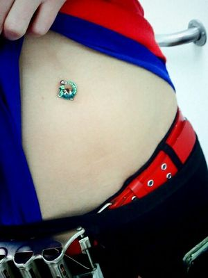 Belly Button Piercing San Diego Black Hill Leather