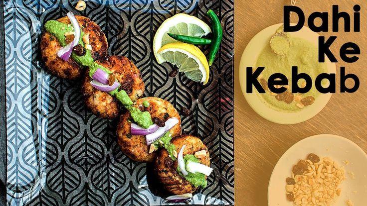 Dahi ke kabab recipe   Dahi Ke Kebab   mughlai dahi kabab video recipe