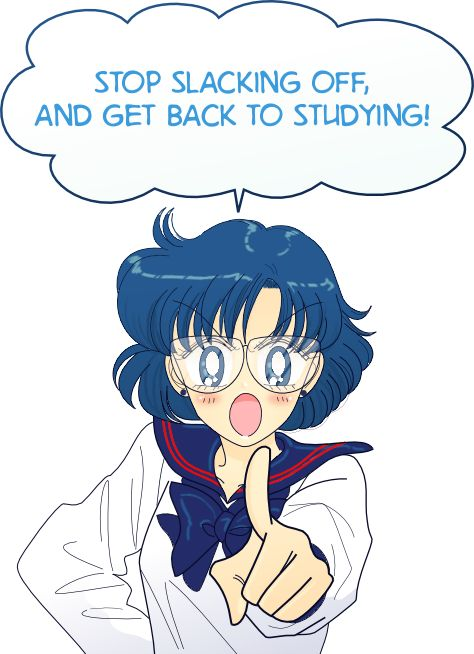 Sailor Mercury~ Ami Mizuno: Maybe I should hang this up in my room somewhere...