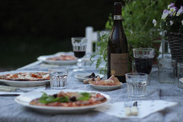 LA PETITE PRINCESSE: Viikonlopun mittainen kesä ja pizzahetki takapihalla.