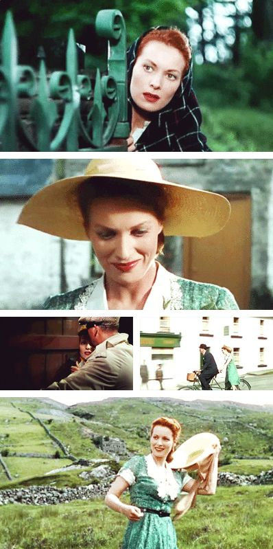 Maureen O'Hara in The Quiet Man, 1952. Directed by John Ford.