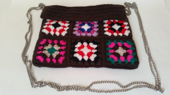 Trendy Handmade shoulder bag with colourful patterns can be worn with different outfits and it can make you stand out from the crowd.