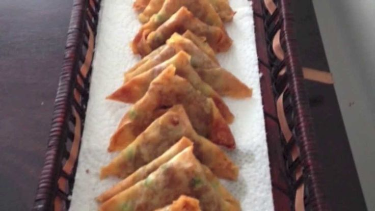 How to make mini samosas using pastry shell (New Year's Party Recipe)